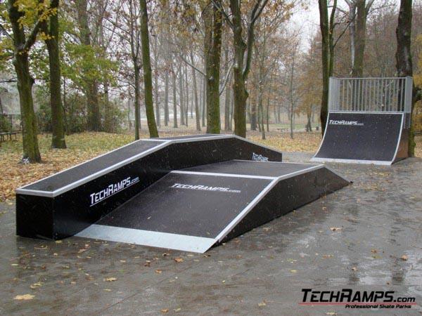 Skatepark in Tarnowo Podgorne