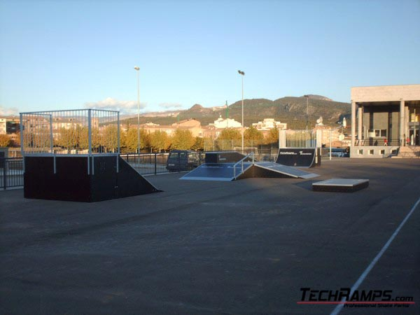 Skatepark in Tremp