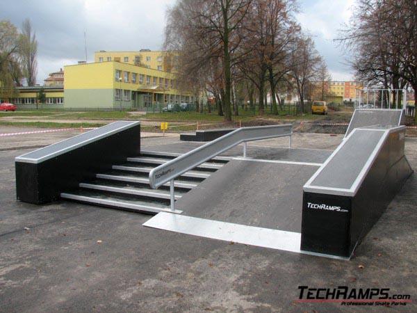 Skatepark in Warka