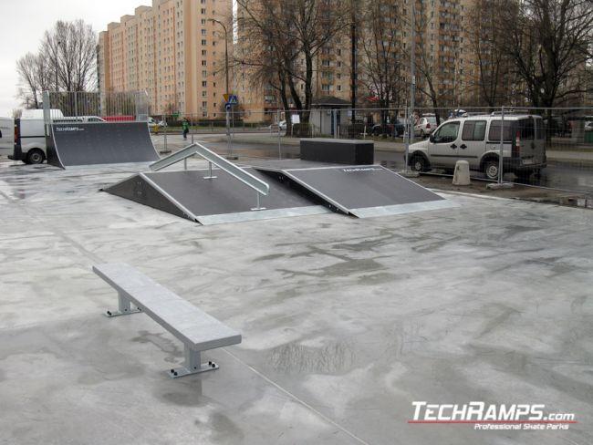 Skatepark in Warsaw Bemowo