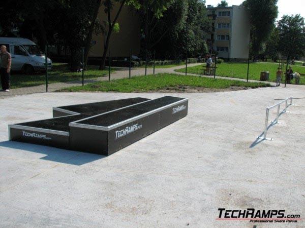 Skatepark in Warszawa
