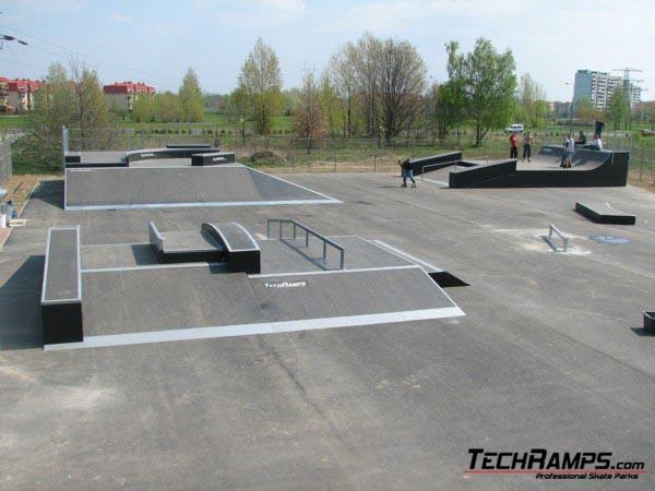 Skatepark in Warszawa-Białołęka