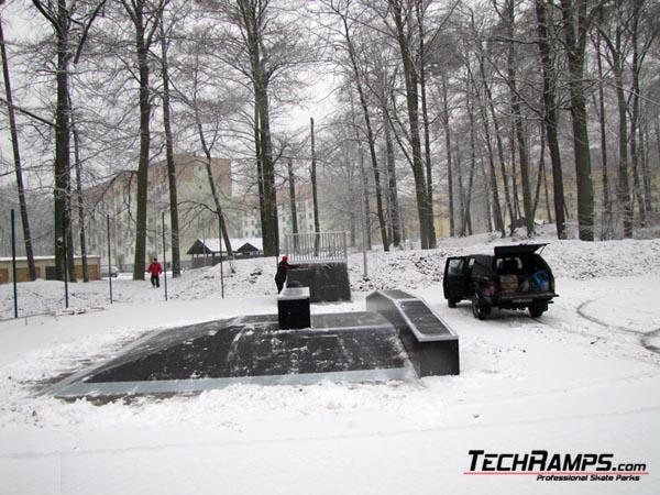 Skatepark in Wedrzyn