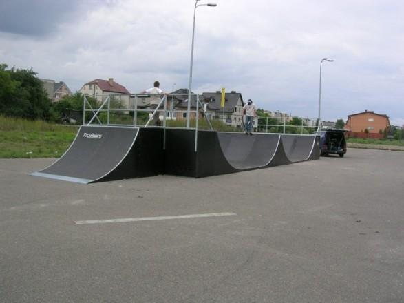 Skatepark in Wejherowo
