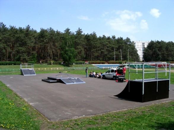 Skatepark in Włocławek
