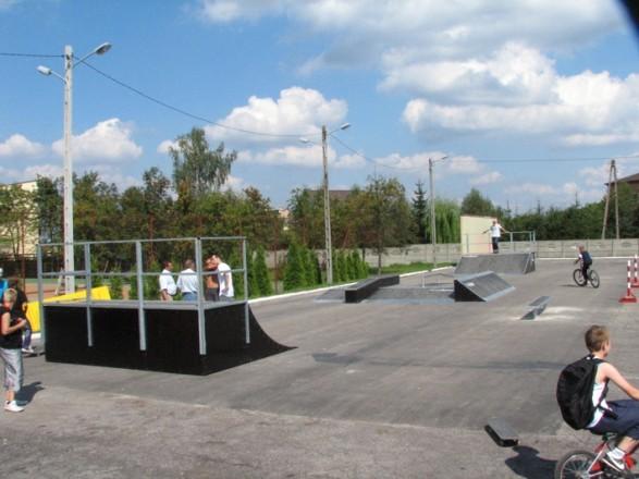 Skatepark in Włoszczowa
