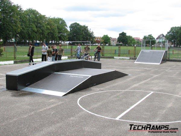 Skatepark in Zlotow