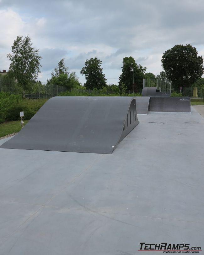 Skatepark Kowalewo Pomorskie - rozbudowa