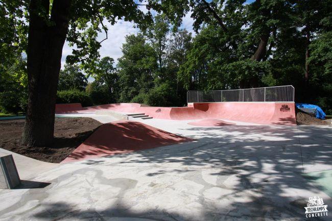 Skatepark Kraków - Park Jordana