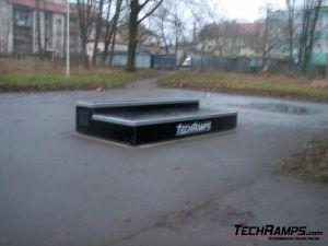 Skatepark Nidzica - nowe elementy - 1