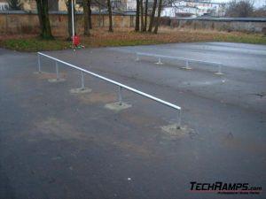 Skatepark Nidzica - nowe elementy - 2