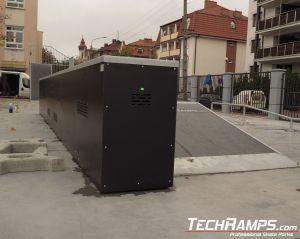 Skatepark nowy w Toruniu