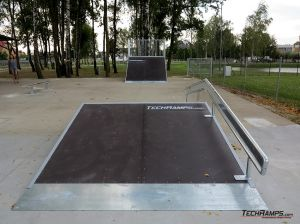 Skatepark obstacles in Standard technology in Kaźmierz
