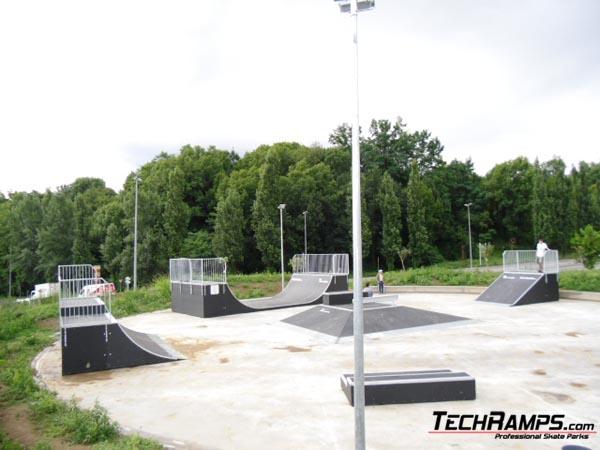 Skatepark Olot in Hiszpania