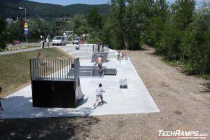 Skatepark on Puchov - 1