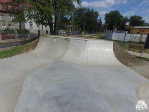 skatepark przemyśl betonowy