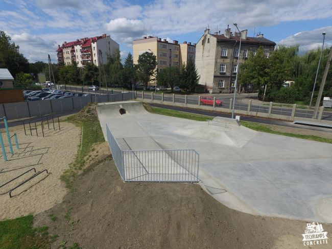 Skatepark Przemysl - development