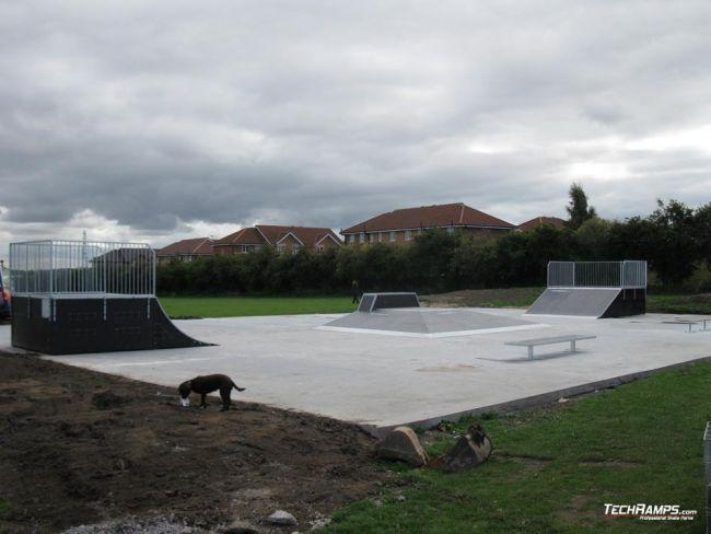 Skatepark Sheffield - Anglia