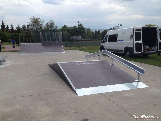 Skatepark Starachowice (extension)
