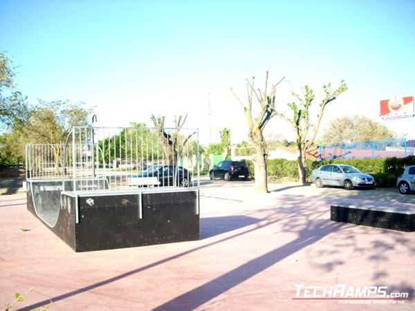 Skatepark Villarejo de Salvanes - Spain