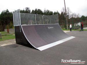 Skatepark w Białobrzegach bankramp