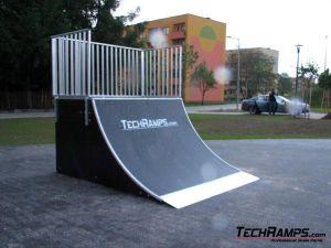 Skatepark w Czechowicach-Dziedzicach - Quoter