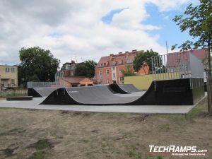 Skatepark w Dębnie po poprawkach