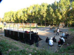 Skatepark w Głogowie 1