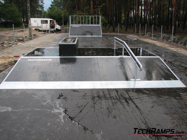 Skatepark w Józefow