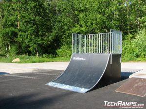 Skatepark w Karlshamn - Nyemollevagen - Szwecja - 2