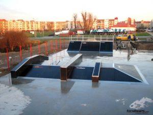Skatepark w Koziegłowach - Czerwonak 2