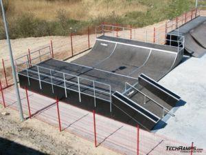 Skatepark w Koziegłowach - Czerwonak 9
