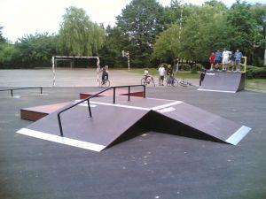 Skatepark w Markach 2