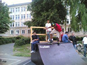 Skatepark w Markach 8