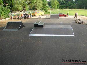 Skatepark w Obornikach Śląskich - 2