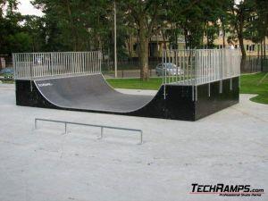 Skatepark w Otwocku - 2 etap - 2