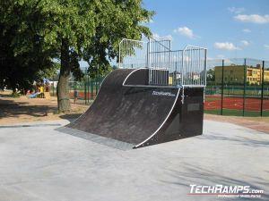 Skatepark w Pawłów bankrampa