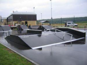 Skatepark w Policach 14