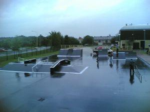 Skatepark w Policach 8