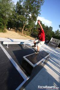 Skatepark w Puchov - 16