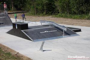 Skatepark w Puchov - 2
