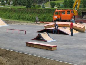 Skatepark w Rabce 2