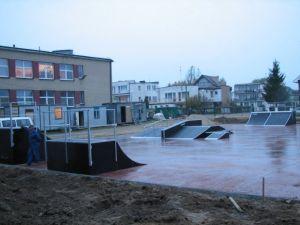 Skatepark w Rewalu 6