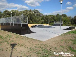 Skatepark w Siewierzy panorama