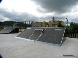 Skatepark w Skwierzynie - bank
