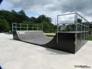 Skatepark w Skwierzynie - minirampa