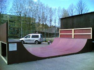 Skatepark w Ustce 2