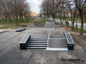 Skatepark w Warce - 11