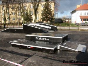 Skatepark w Warce - 14