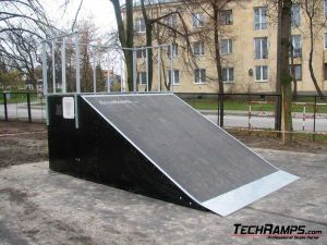 Skatepark w Warce - 2